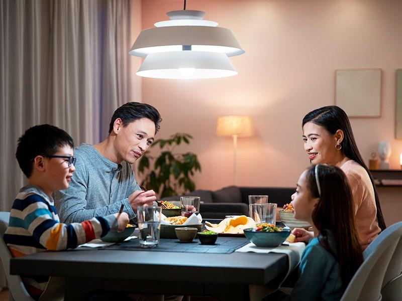 Philips tawarkan lampu pintar dan Luminer desain sendiri