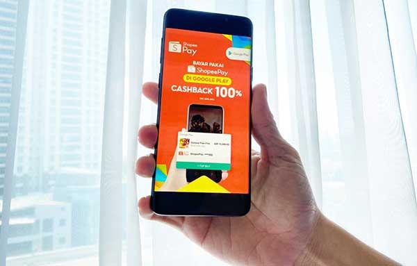ShopeePay layani transaksi di Google Play Store