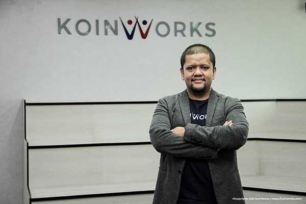 Valdy Mustafa dipercaya menjadi CRO KoinWorks