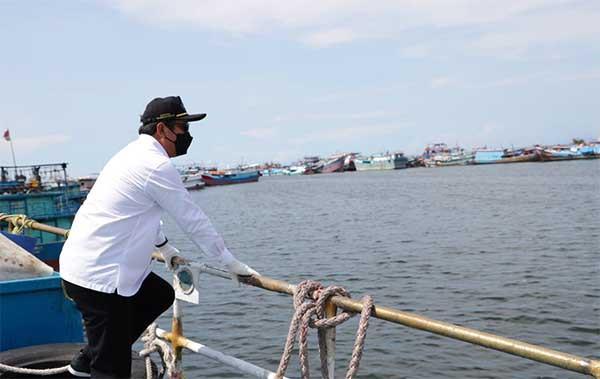 Menteri Trenggono kebut digitalisasi layanan di pelabuhan perikanan