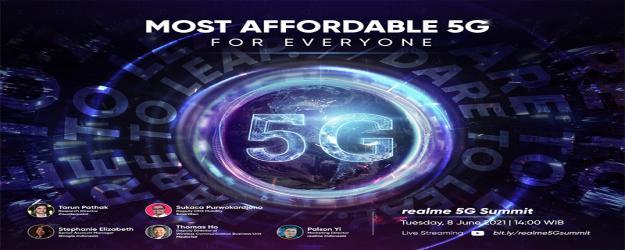 Realme bidik sejuta pengguna 5G di Indonesia