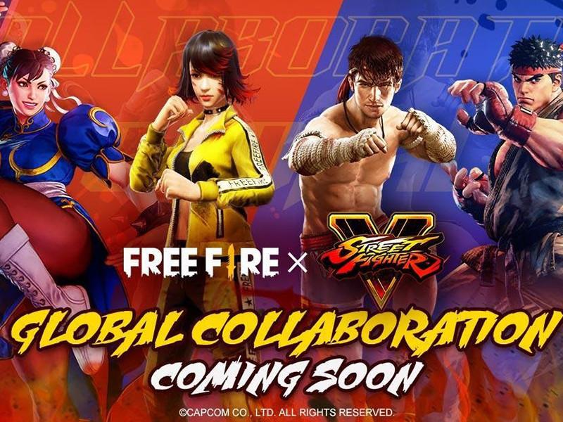 Ada karakter Ryu dan Chun Lie di Free Fire