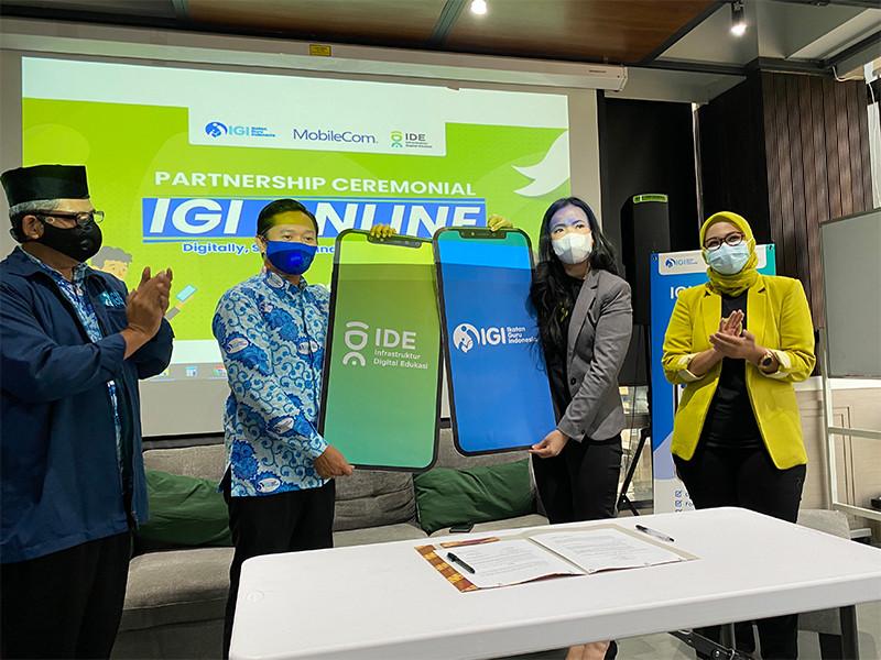 Digitalisasi organisasi profesi guru, IGI gandeng IDE