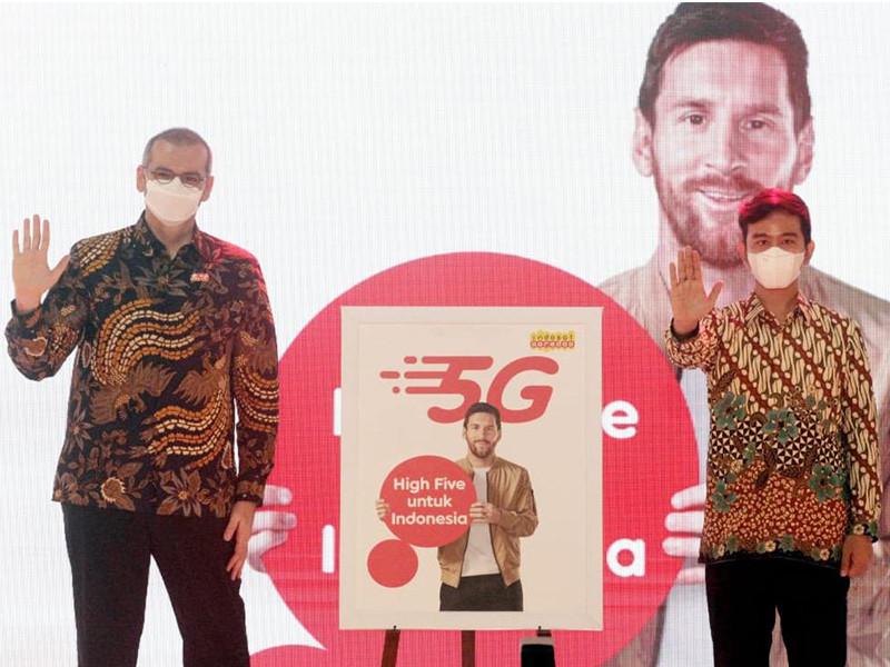 Indosat luncurkan 5G secara komersil di Solo
