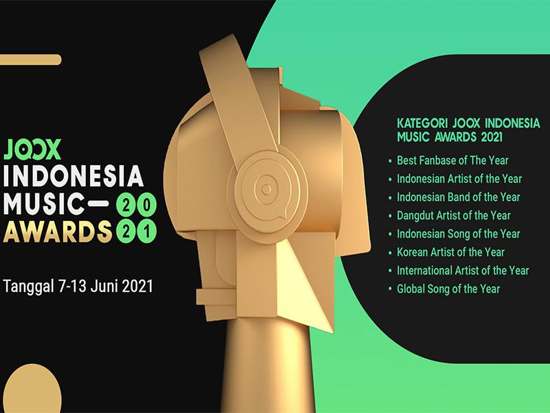 Perdana, JOOX gelar Indonesia Music Awards