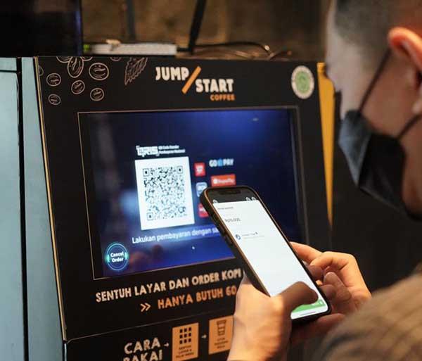 JumpStart Coffee digitalisasi pemesanan kopi