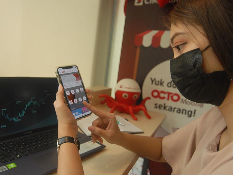 Ada fasilitas Octo Mobile bagi nasabah CIMB Niaga berinvestasi reksa dana