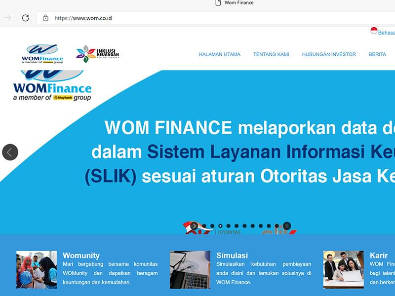 WOM Finance terbitkan obligasi berkelanjutan, targetnya Rp5 triliun