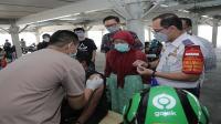 Pemkot Depok gelar vaksin untuk mitra driver gojek dan lansia