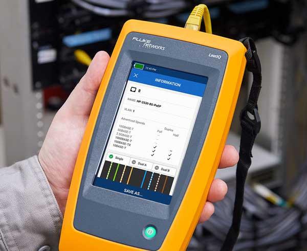LinkIQ tawarkan alat uji yang menggabungkan teknologi kabel fluke networks dengan diagnostik switch