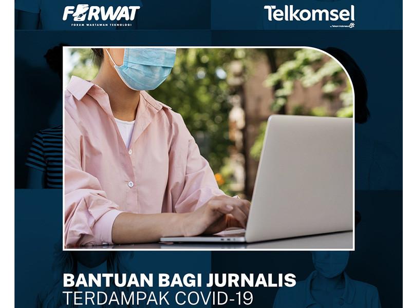Forwat dan Telkomsel ringankan beban jurnalis terdampak covid-19