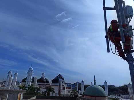 Jaringan XL layani 5.102 desa di Aceh