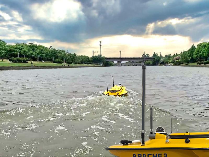 Cegah banjir dengan teknologi Chcnav Apache 3