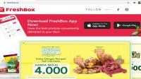 FreshBox, solusi kebutuhan dapur via online dan offline