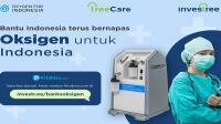 Investree donasikan oksigen konsentrator untuk rumah sakit