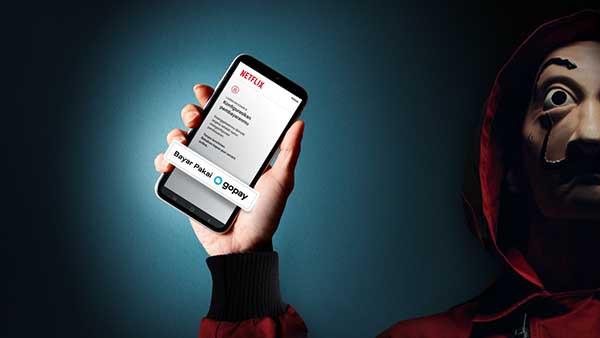 Netflix permudah pembayaran konten dengan GoPay