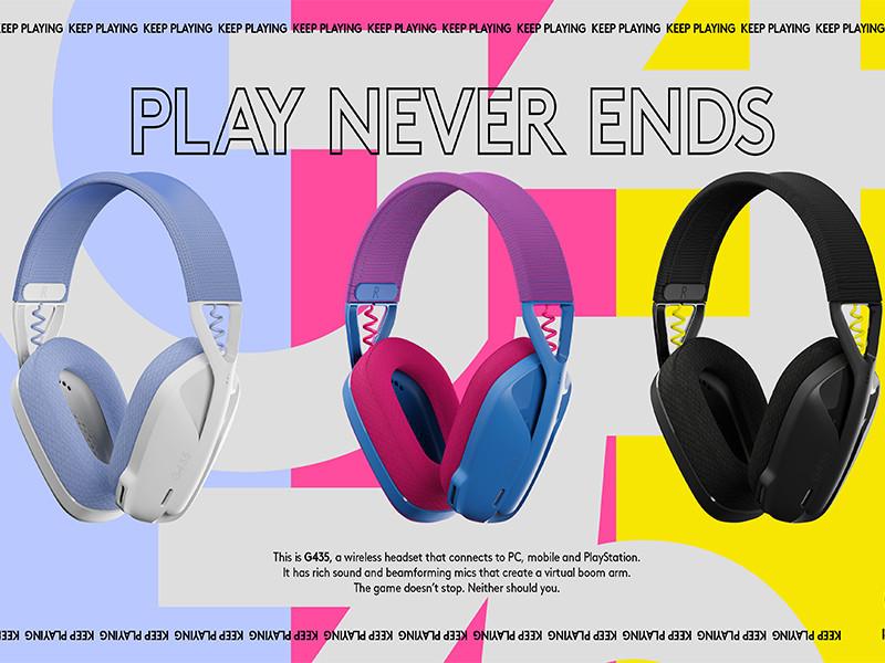 Logitech G luncurkan headset wireless bluetooth paling ringan