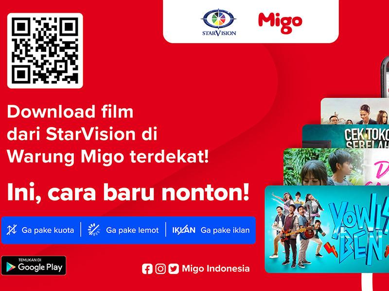 Migo lanjutkan kerjasama 3 tahun dengan StarVision