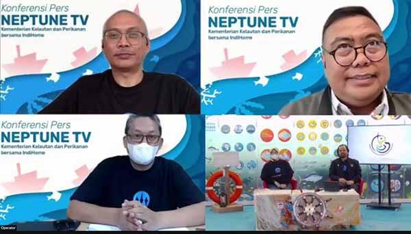 IndiHome perkuat konten bahari dengan NeptuneTV KKP