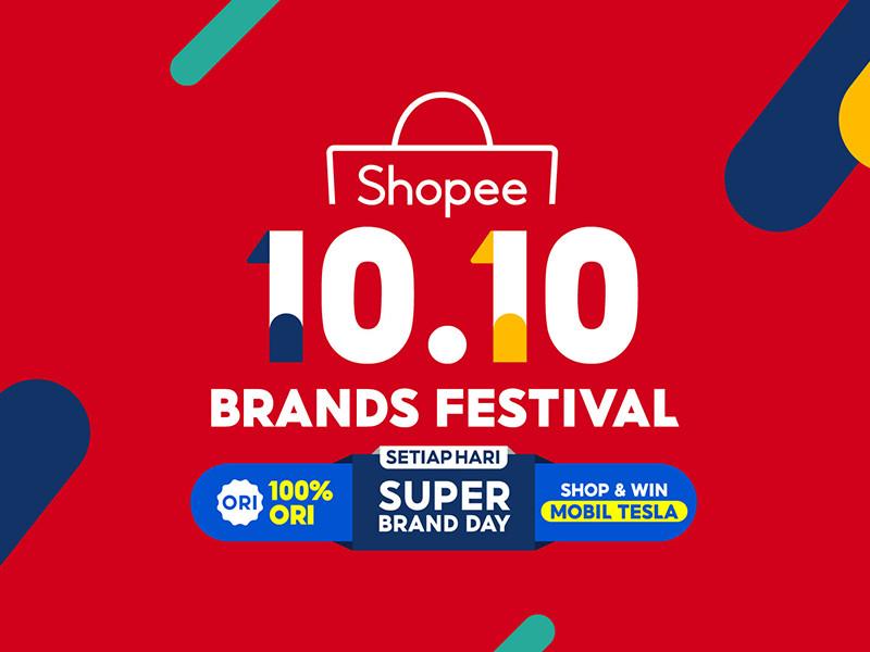 Shopee 10.10 Brands Festival sambut bulan Oktober