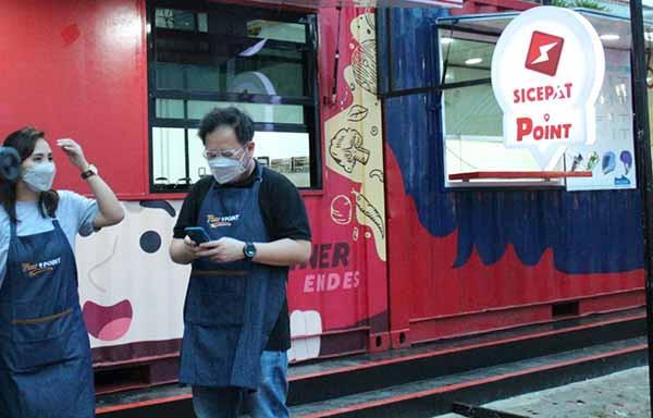 Telefast Indonesia gandeng SiCepat garap bisnis ekspres berkonsep kontainer
