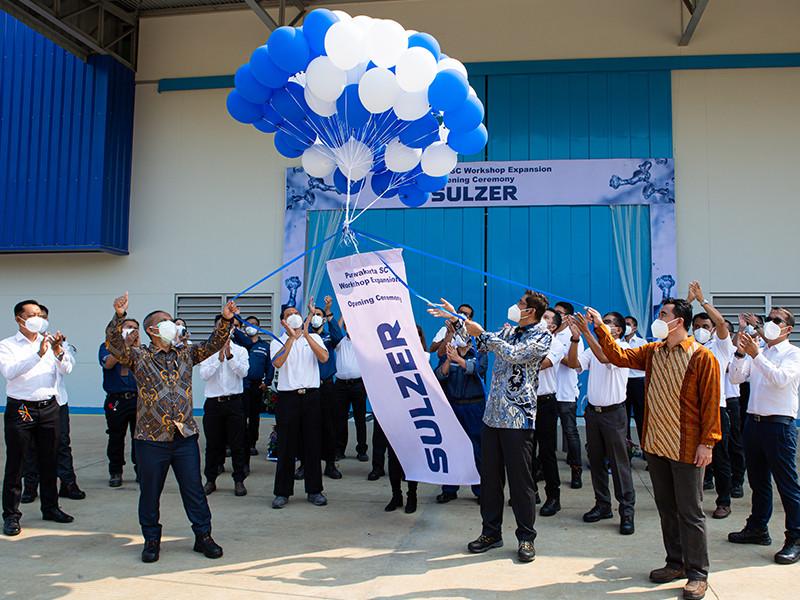 Sulzer Indonesia resmikan perluasan workshop di Purwakarta