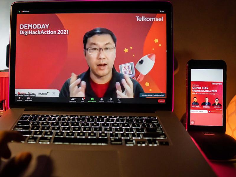 Ini dia, 3 ide terbaik di Telkomsel DigiHackAction