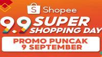 <div>Besok puncak Shopee 9.9</div>