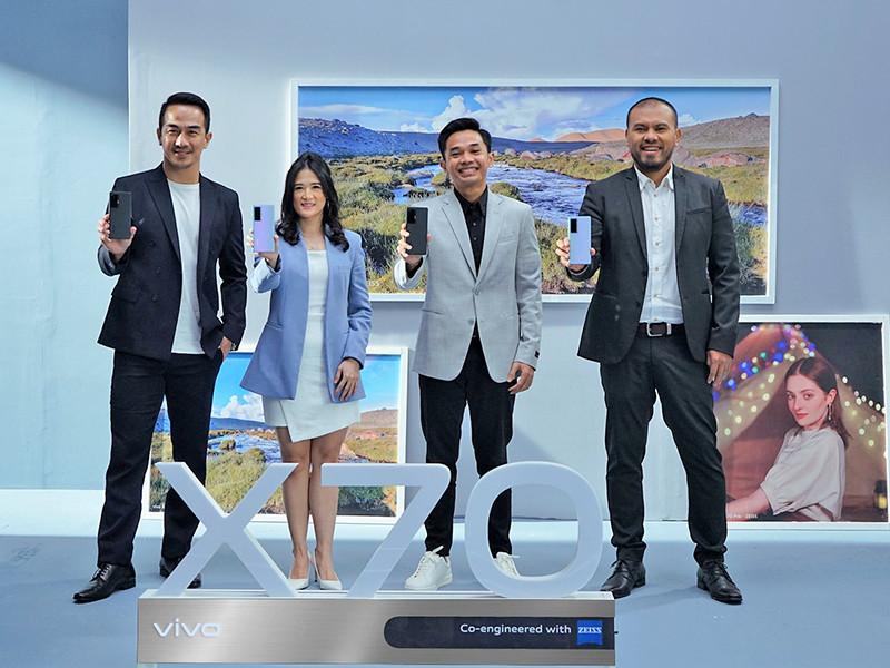Vivo X70 Pro masuk Indonesia, andalkan ZEISS Optics dan fotografi profesional
