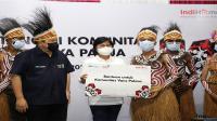 Erick Thohir bersama Indihome semangati komunitas di Papua