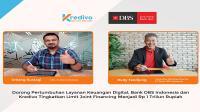 Bank DBS Indonesia dan Kredivo tingkatkan Limit Joint Financing