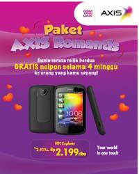Axis Tawarkan Bundling HTC Explorer