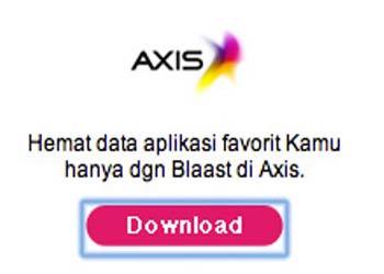 Lepas XL, Blaast Gandeng Axis
