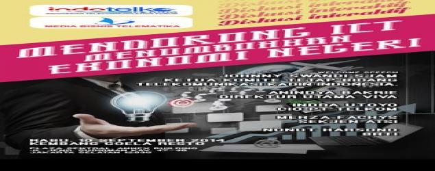 Hadirilah Talk Show Mendorong ICT Menumbuhkan Ekonomi Negeri