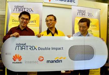 Matrix  Double Impact dari Indosat