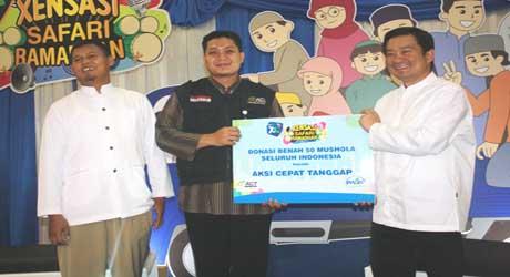 XL Salurkan Donasi Ramadhan