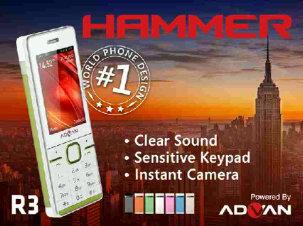 Advan Andalkan Hammer di Segmen Feature Phone