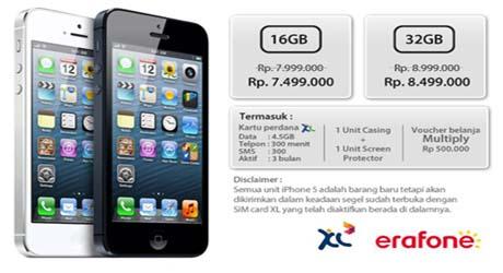 iPhone5 Tersedia di Multiply