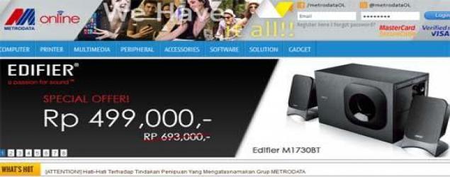 Metrodata akan lebih Agresif di e-commerce