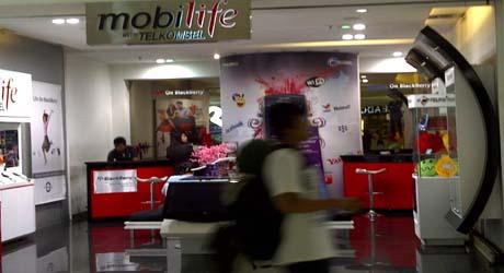 Dipailitkan, Penjualan Telkomsel tetap Tumbuh