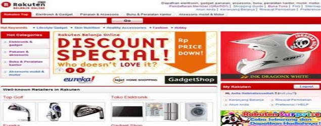 Segitiga Bisnis, Strategi Rakuten di e-commerce Indonesia