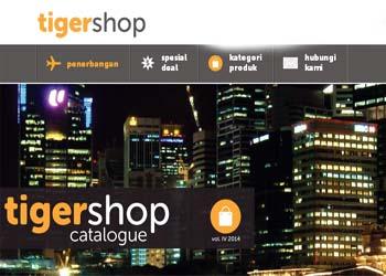Tigerair Luncurkan Portal e-commerce
