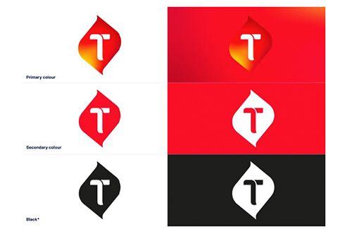 Ada 4 nilai brand pada logo baru Telkomsel