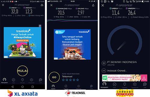 Jaringan 4G maksimal di Pandanaran