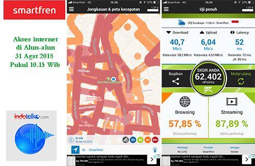 Akses data 4G Smartfren <i>ngacir </i>di Magelang