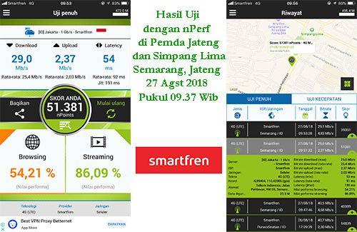 Smartfren tebar 4G+ di Semarang
