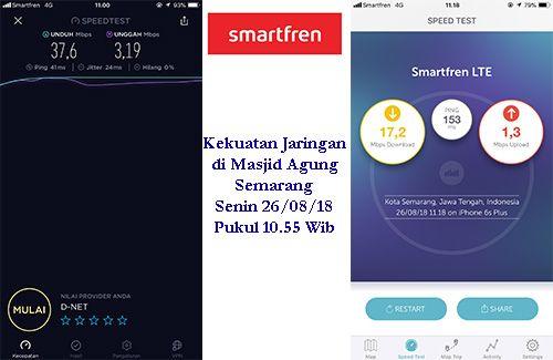 Jaringan 4G Smartfren ngejoss di 5 titik wisata