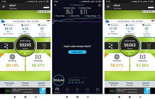 Di Wisata Lampung, 4G Smartfren Melambung