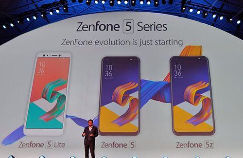 Asus pamer Zenfone generasi ke-5 di MWC