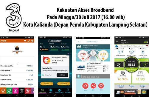 4G dari tiga operator bersaing di Kota Kalianda